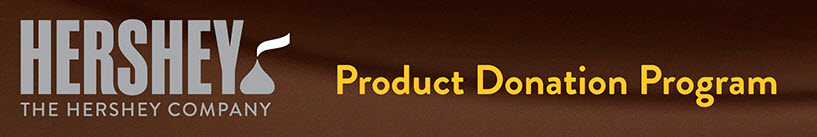 THE HERSHEY COMPANY PRODUCT DONATION APPLICATION